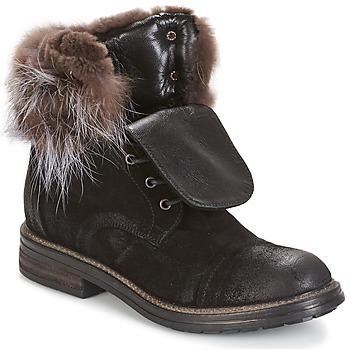 Pantofi Femei Ghete Now BIANCA III Negru
