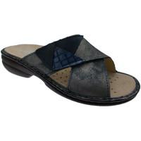 Pantofi Femei Papuci de vară Calzaturificio Loren LOM2657bl blu