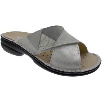 Pantofi Femei Papuci de vară Calzaturificio Loren LOM2657bi bianco