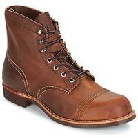 Pantofi Bărbați Ghete Red Wing IRON RANGER Maro