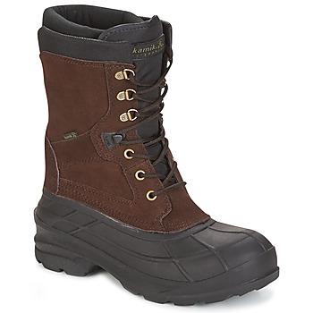 Pantofi Bărbați Cizme de zapadă KAMIK NATION PLUS Maro / Culoare închisă