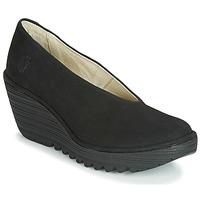 Pantofi Femei Pantofi cu toc Fly London CUPIDO Negru