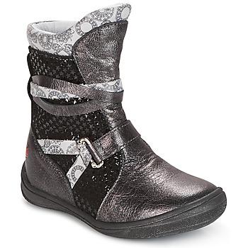 Pantofi Fete Ghete GBB ROSANA Gri