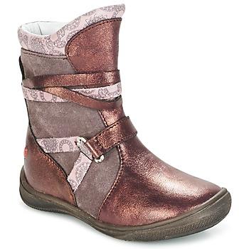 Pantofi Fete Ghete GBB ROSANA Roz / Bordo
