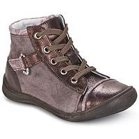 Pantofi Fete Ghete GBB ROMIE Roz / Roșu-bordeaux