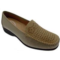 Pantofi Femei Mocasini Calzaturificio Loren LOK3971du grigio