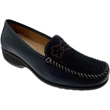 Pantofi Femei Mocasini Calzaturificio Loren LOK3971bl blu
