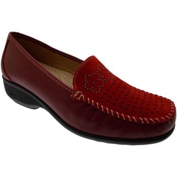 Pantofi Femei Mocasini Calzaturificio Loren LOK3971ro rosso