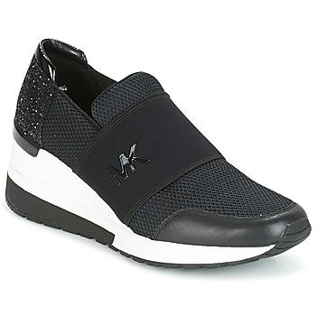 Pantofi Femei Pantofi sport Casual MICHAEL Michael Kors FELIX TRAINER Negru