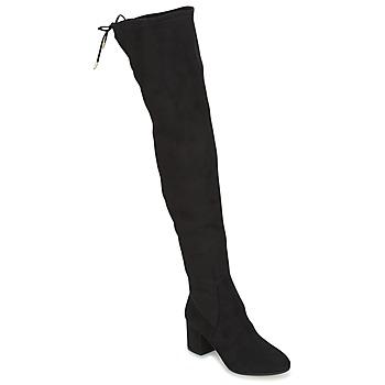 Pantofi Femei Cizme lungi peste genunchi Jonak GINA Negru