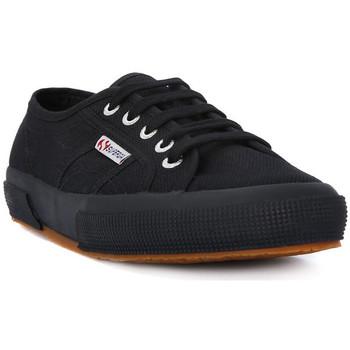 Pantofi Femei Pantofi sport Casual Superga COTU FULL BLACK CLASSIC Nero