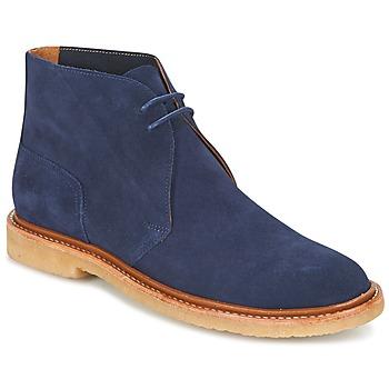 Pantofi Bărbați Ghete Polo Ralph Lauren KARLYLE Bleumarin