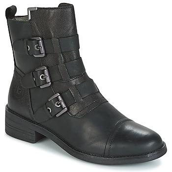 Pantofi Femei Ghete Bugatti POMO Gri / Culoare închisă