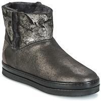 Pantofi Fete Ghete Unisa FIS Argintiu