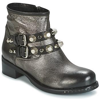 Pantofi Femei Ghete Mimmu BERLO Argintiu
