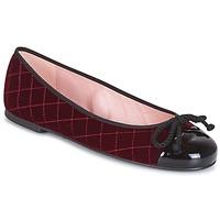 Pantofi Femei Botine Pretty Ballerinas  Bordo