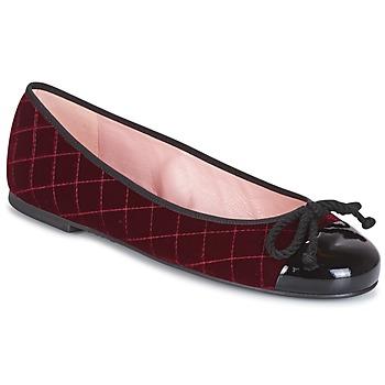 Pantofi Femei Botine Pretty Ballerinas  Roșu-bordeaux