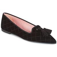 Pantofi Femei Balerin și Balerini cu curea Pretty Ballerinas  Black