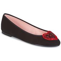 Pantofi Femei Botine Pretty Ballerinas  Black