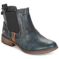 Pantofi Femei Ghete Mustang NANI Bleumarin