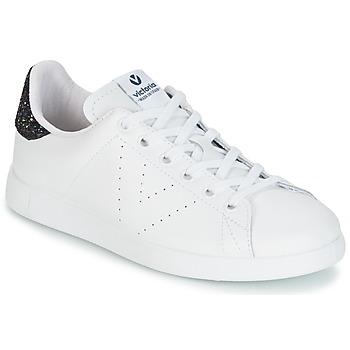 Pantofi Femei Pantofi sport Casual Victoria DEPORTIVO BASKET PIEL Albă / Albastru