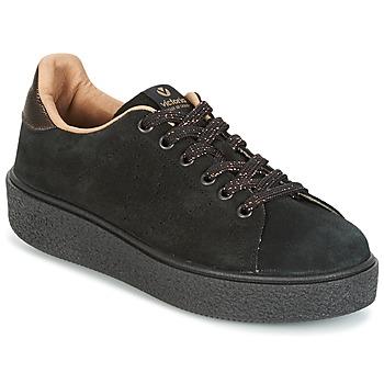 Pantofi Femei Pantofi sport Casual Victoria DEPORTIVO SERRAJE P. NEGRO Negru