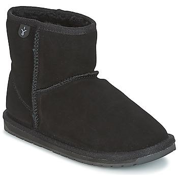 Pantofi Fete Ghete EMU WALLABY MINI Negru