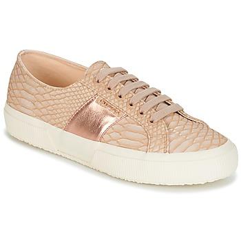 Pantofi Femei Pantofi sport Casual Superga 2750 PU SNAKE W Nude