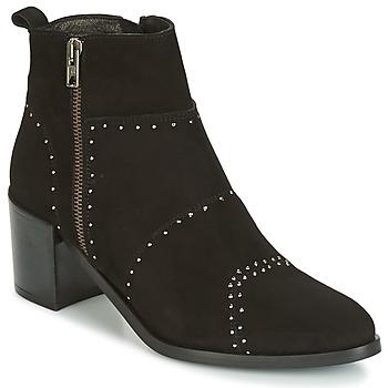 Pantofi Femei Botine Regard RAPAGA Negru