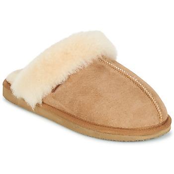 Pantofi Femei Papuci de casă Shepherd JESSICA Maro