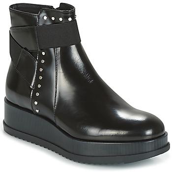 Pantofi Femei Ghete Tosca Blu CIVETTA ABRASIVATO Negru