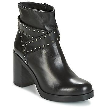 Pantofi Femei Botine Tosca Blu ST.MORITZ Negru