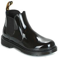 Pantofi Fete Pantofi Derby Dr Martens BANZAI Negru