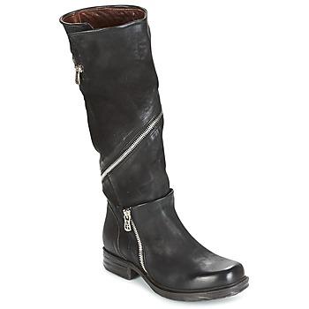 Pantofi Femei Cizme casual Airstep / A.S.98 SAINT EC ZIP Negru