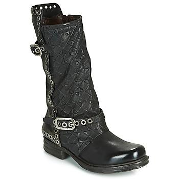 Pantofi Femei Cizme casual Airstep / A.S.98 SAINT EC BUCKLE Negru