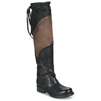 Pantofi Femei Cizme lungi peste genunchi Airstep / A.S.98 SAINT EC PATCH Negru