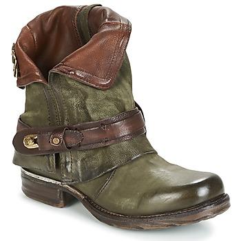 Pantofi Femei Ghete Airstep / A.S.98 SAINT BIKE Kaki