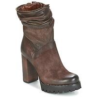 Pantofi Femei Botine Airstep / A.S.98 BLOC ZIP Maro