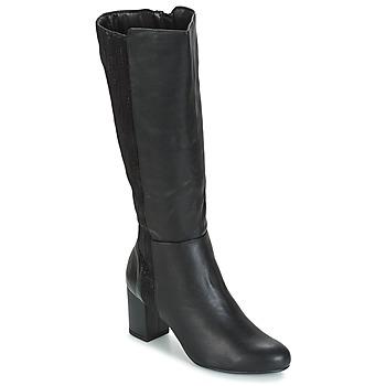 Pantofi Femei Cizme casual Moony Mood HINA Negru