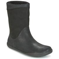 Pantofi Femei Ghete Camper PEU CAMI Negru