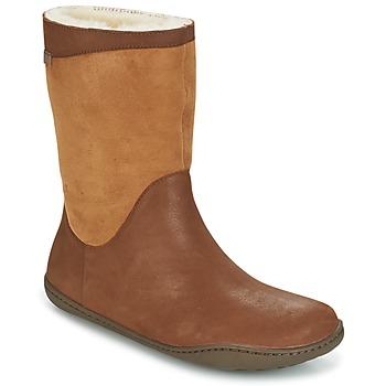 Pantofi Femei Ghete Camper PEU CAMI Maro