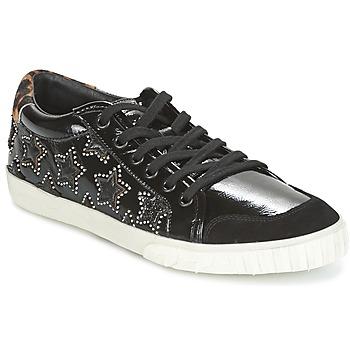 Pantofi Femei Botine Ash MAJESTIC BIS Black / Silver