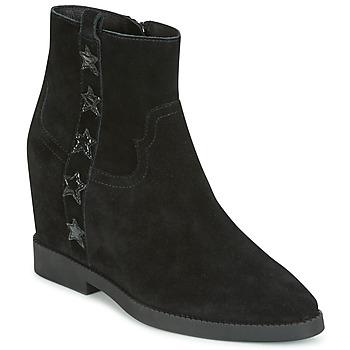Pantofi Femei Ghete Ash GOLDIE Negru