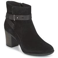 Pantofi Femei Pantofi Derby Clarks ENFIELD SARI Black / Suede
