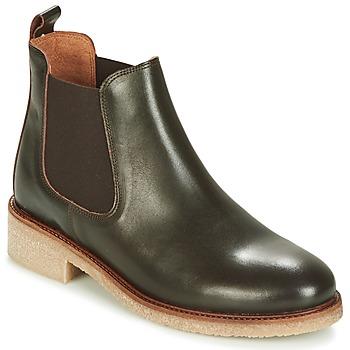 Pantofi Femei Ghete Bensimon BOOTS CREPE Maro