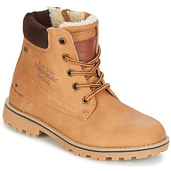 Pantofi Băieți Ghete Tom Tailor JOLUI Camel