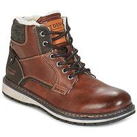 Pantofi Bărbați Ghete Tom Tailor LORENZA Maro