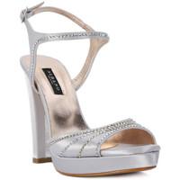 Pantofi Femei Sandale  Albano RASO ARGENTO Grigio