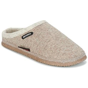 Pantofi Femei Papuci de casă Giesswein DANNHEIM Bej