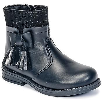 Pantofi Fete Ghete Citrouille et Compagnie HEYLI Negru